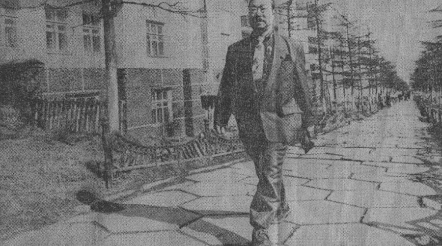 Ютака Сакай в Магадане.
