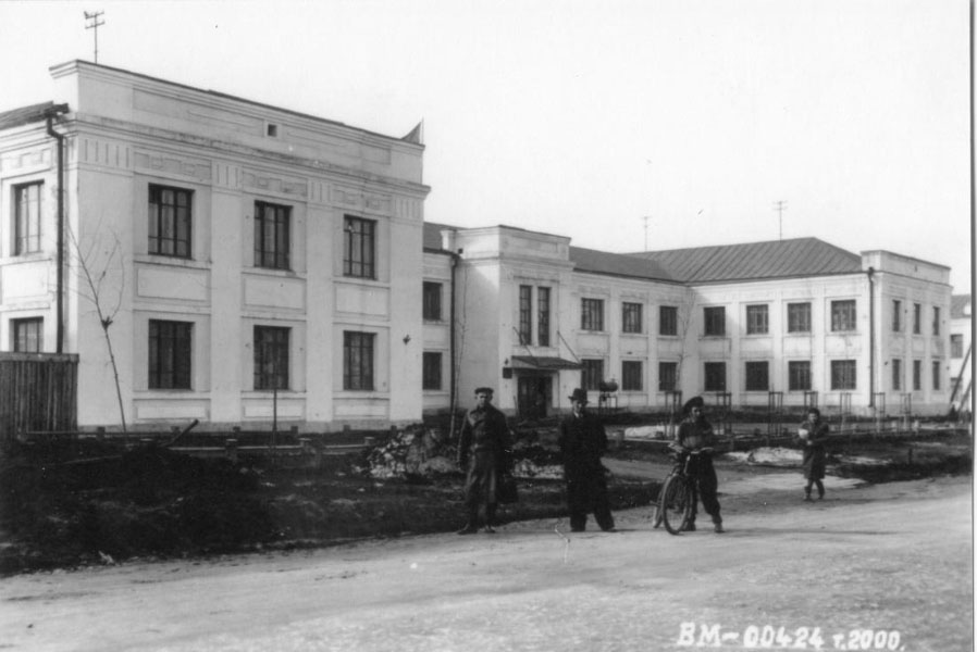 Здание комендатуры 61-го Нагаево – Магаданского морского погранотряда, ныне учебный корпус Магаданского политехникума