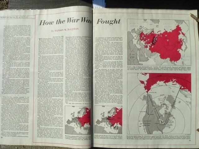 Карта объектов ядерной бомбардировки на всей территории СССР.