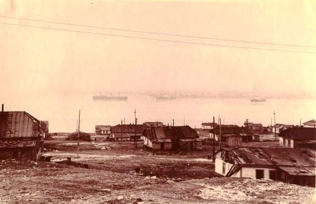 Бухта Провидения. Поселок. 1962 год.