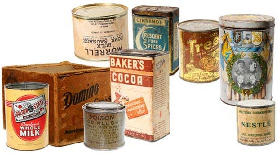 Американское продовольствие, направлявшееся в Россию по ленд-лизу.