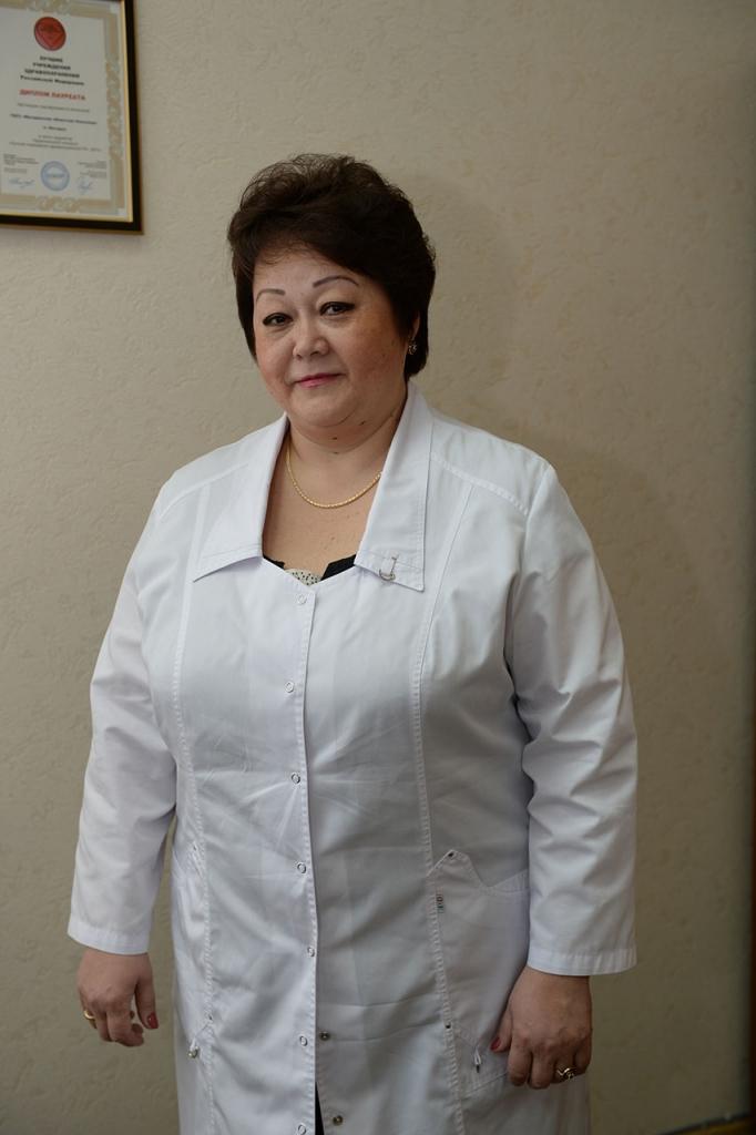 Главный врач Магаданской областной больницы Ирина Полярная.
