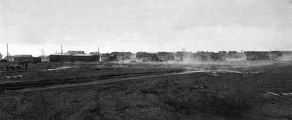 Остров Врангеля, поселок Ушаковское. 1977 год.