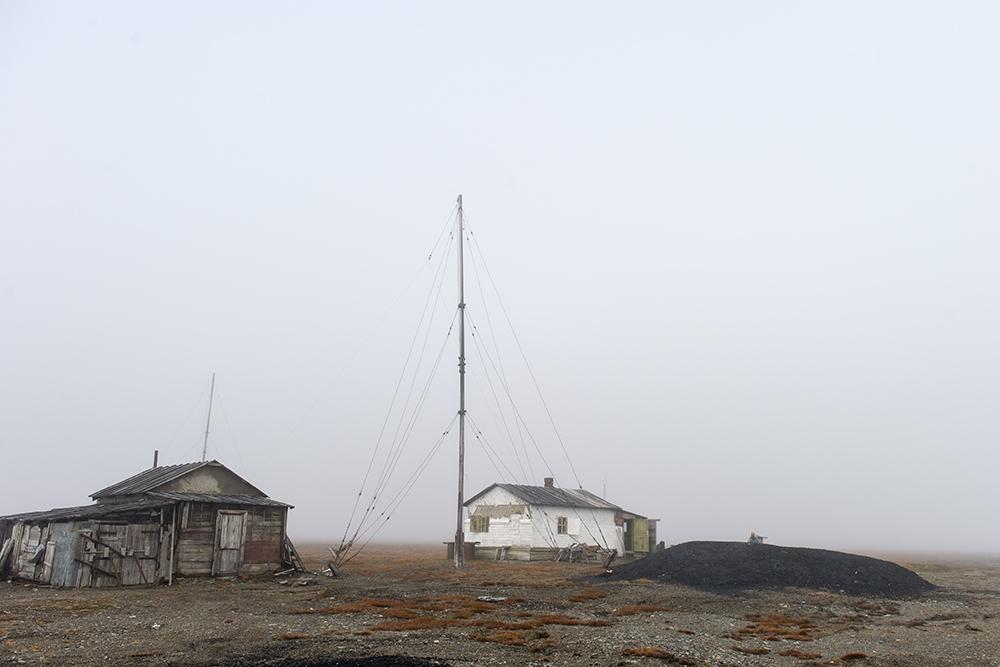 Остров Врангеля. бывшая метеостанция на мысе Блоссом.
