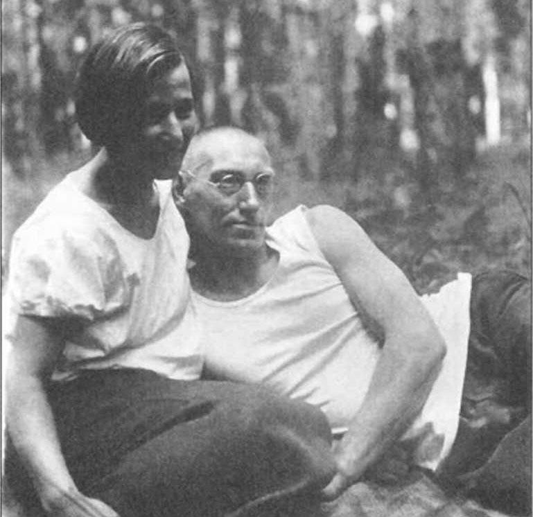 Варсеник и Борис Вронские. 1934 год.