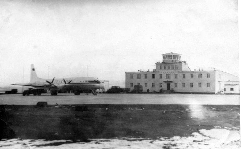 Аэропорт на мысе Шмидта (1960—1969 ).
