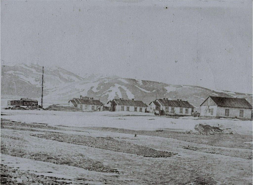 Остров Врангеля. Бухта Сомнительная. Посёлок Звёздный. 1959 год.