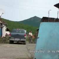 Поселок Джелгала. 2012 год. Бывший магазин и столовая