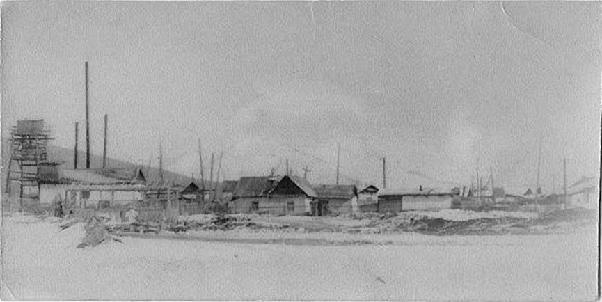 Нижняя часть посёлка Дражный.