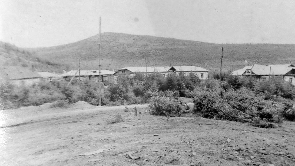 Посёлок Дражный, 1957 год.