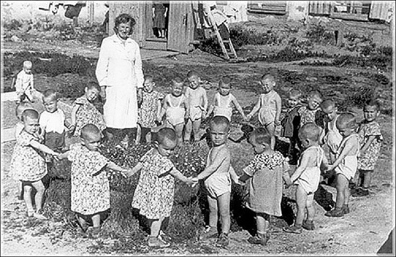 Эльген. Деткомбинат. 1953 год.