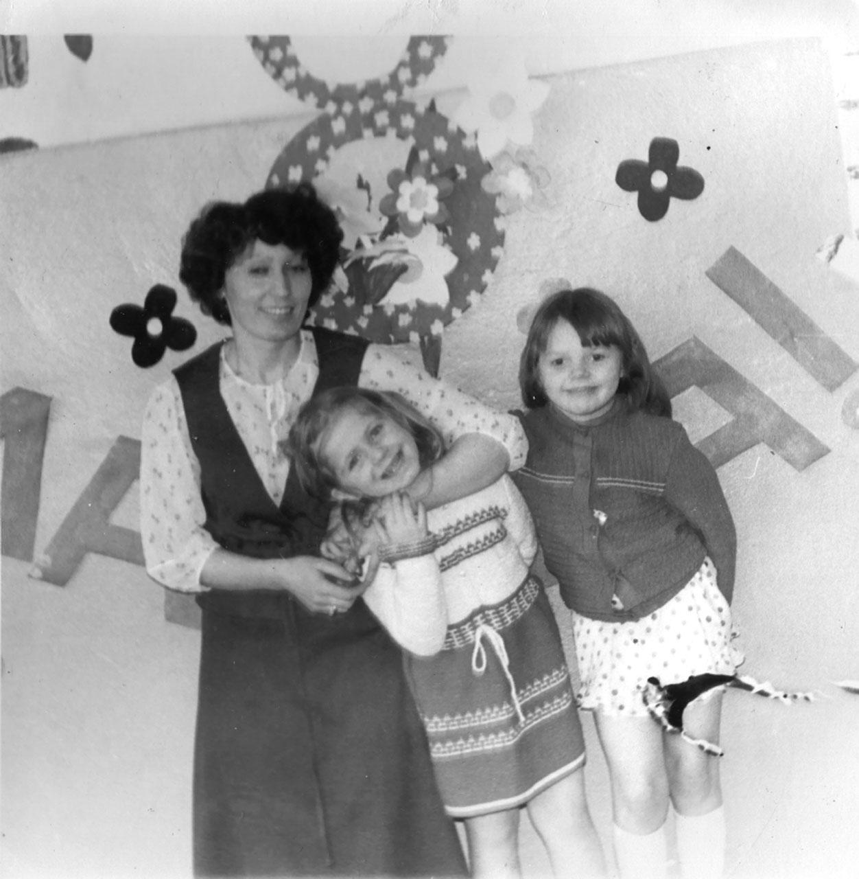 В детском саду посёлка Эсчан.