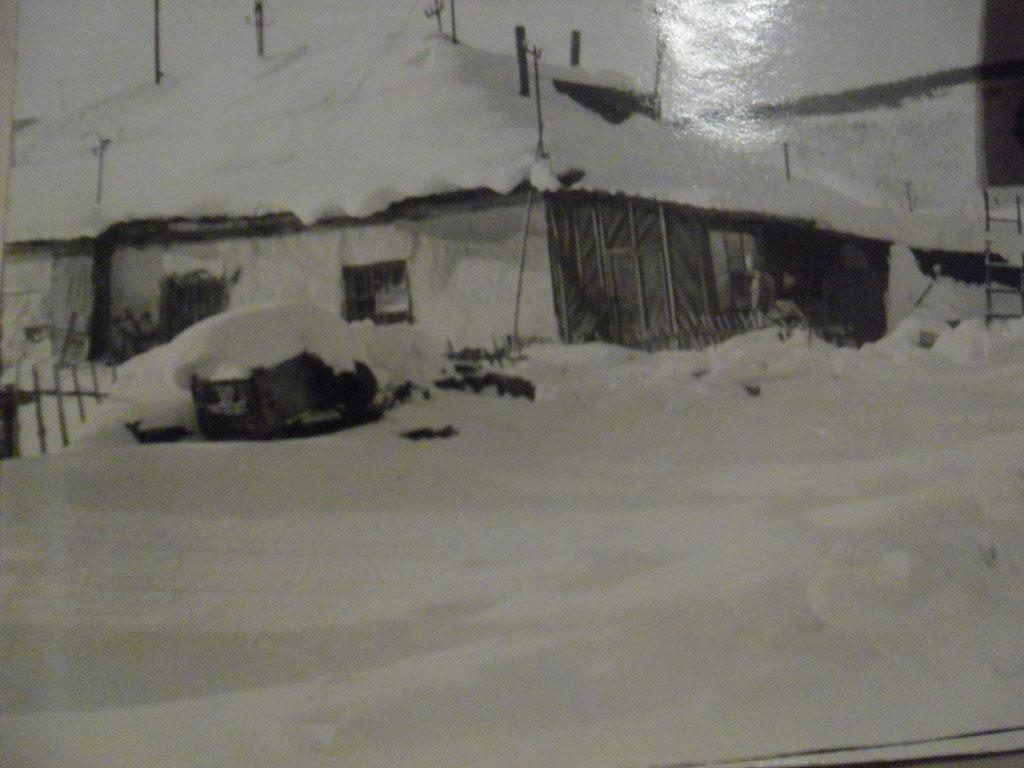 Поселок Хатыннах. Зима.