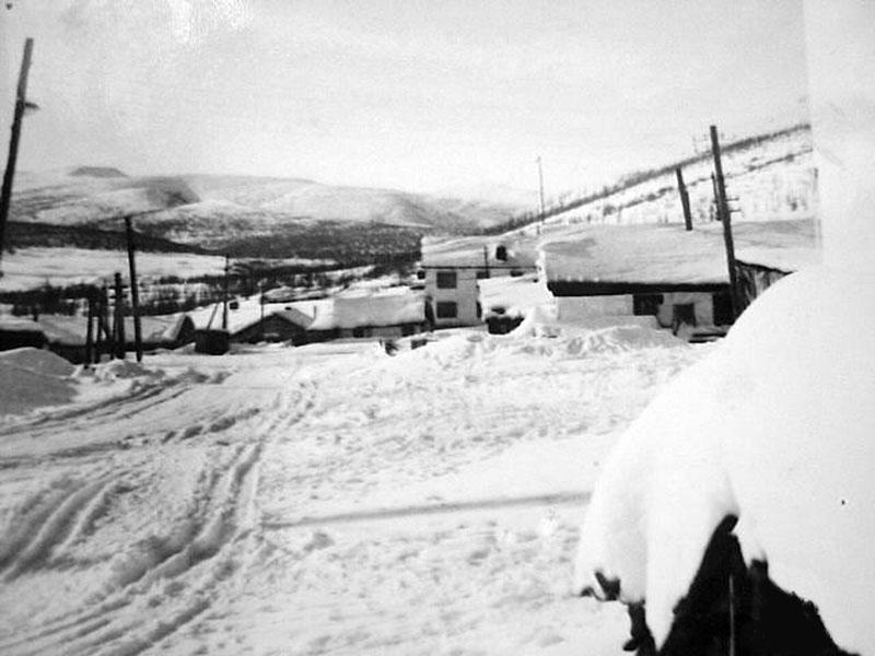 Посёлок Одинокий. Начало 80-х. Фото Евгения Марьина.