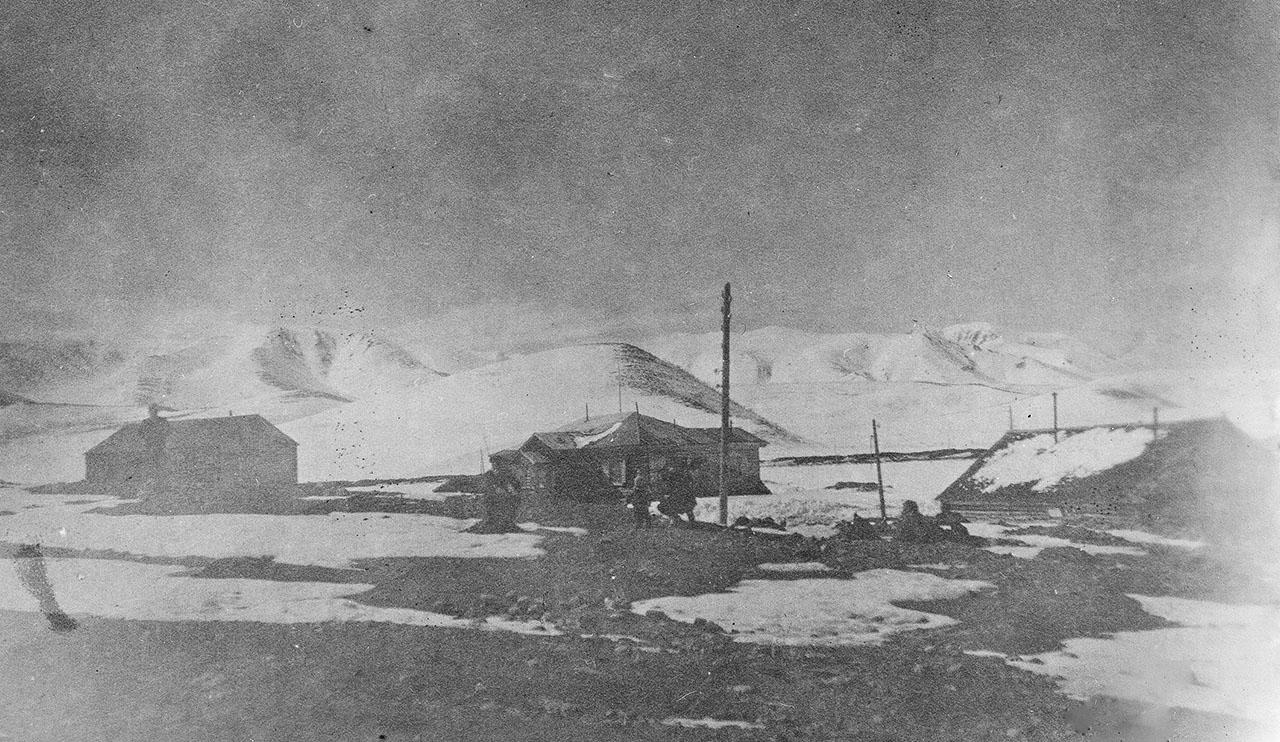 Посёлок Штурмовой. Май 1940 года.