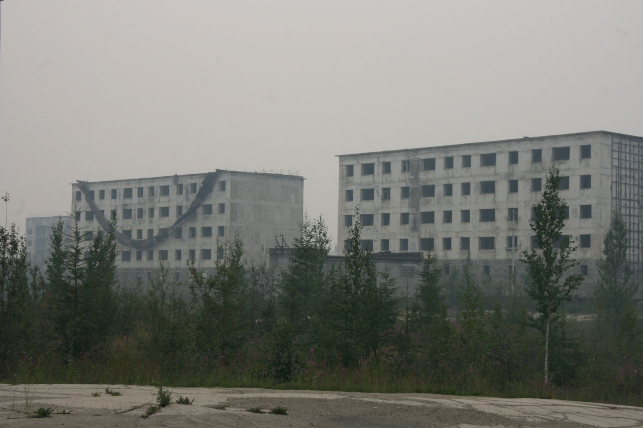 Поселок Синегорье. 2013 год.