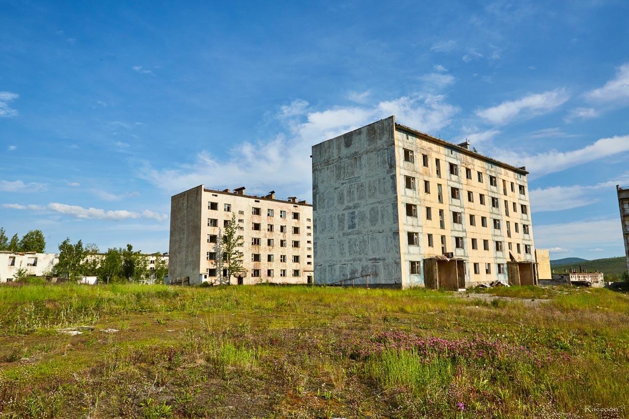 Посёлок Спорное. 2017 год.