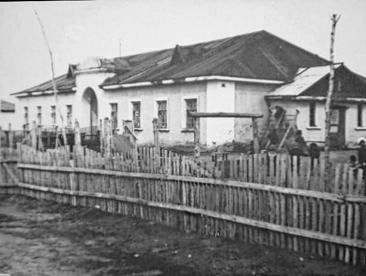 Детский сад. Усть-Таскан.