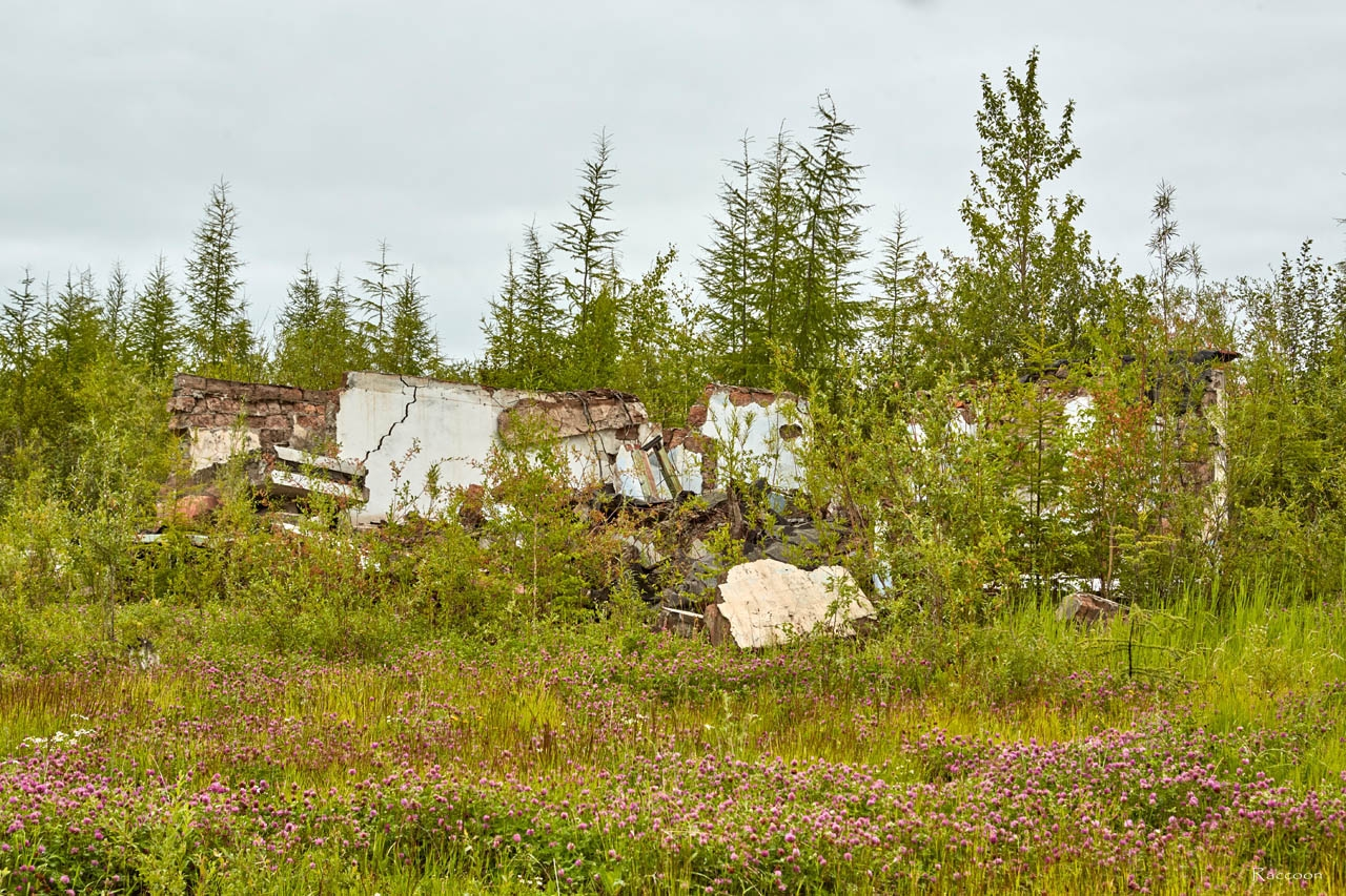 Развалины строения. Усть-Таскан. 2017 год.