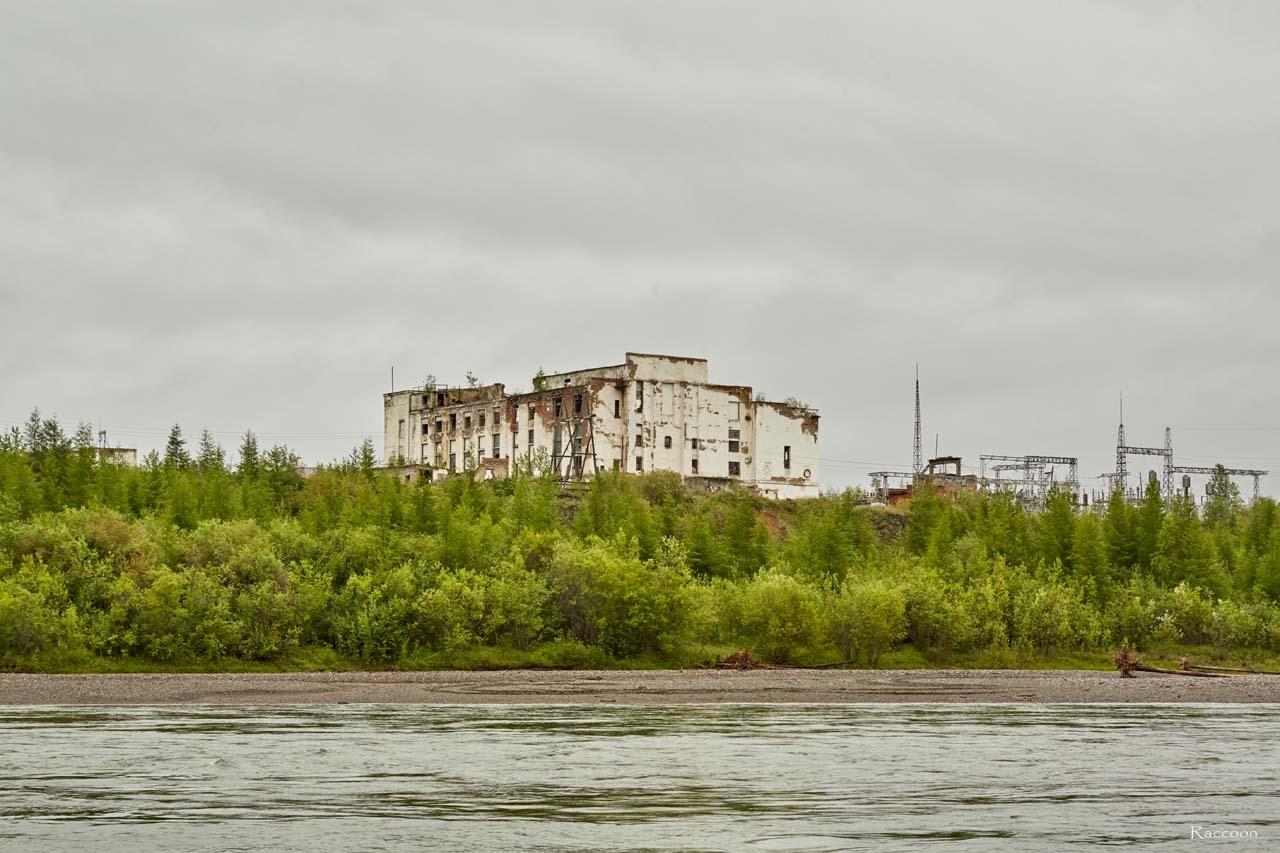 Здание Усть-Тасканской ТЭС. 2017 год.