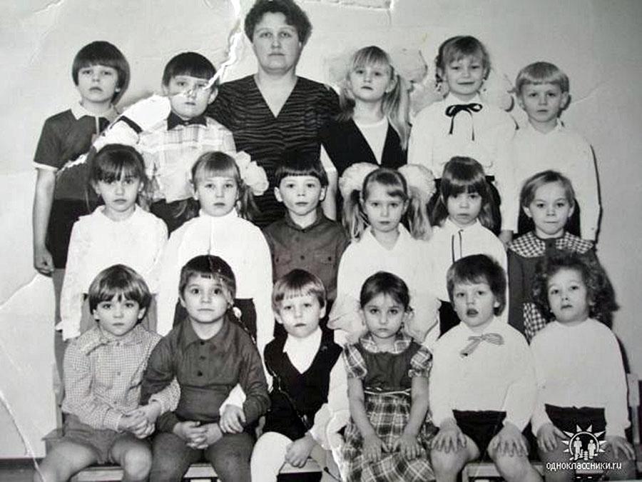 Детский сад «Ручеёк» 23 февраля 1989 года. Посёлок Ясный.