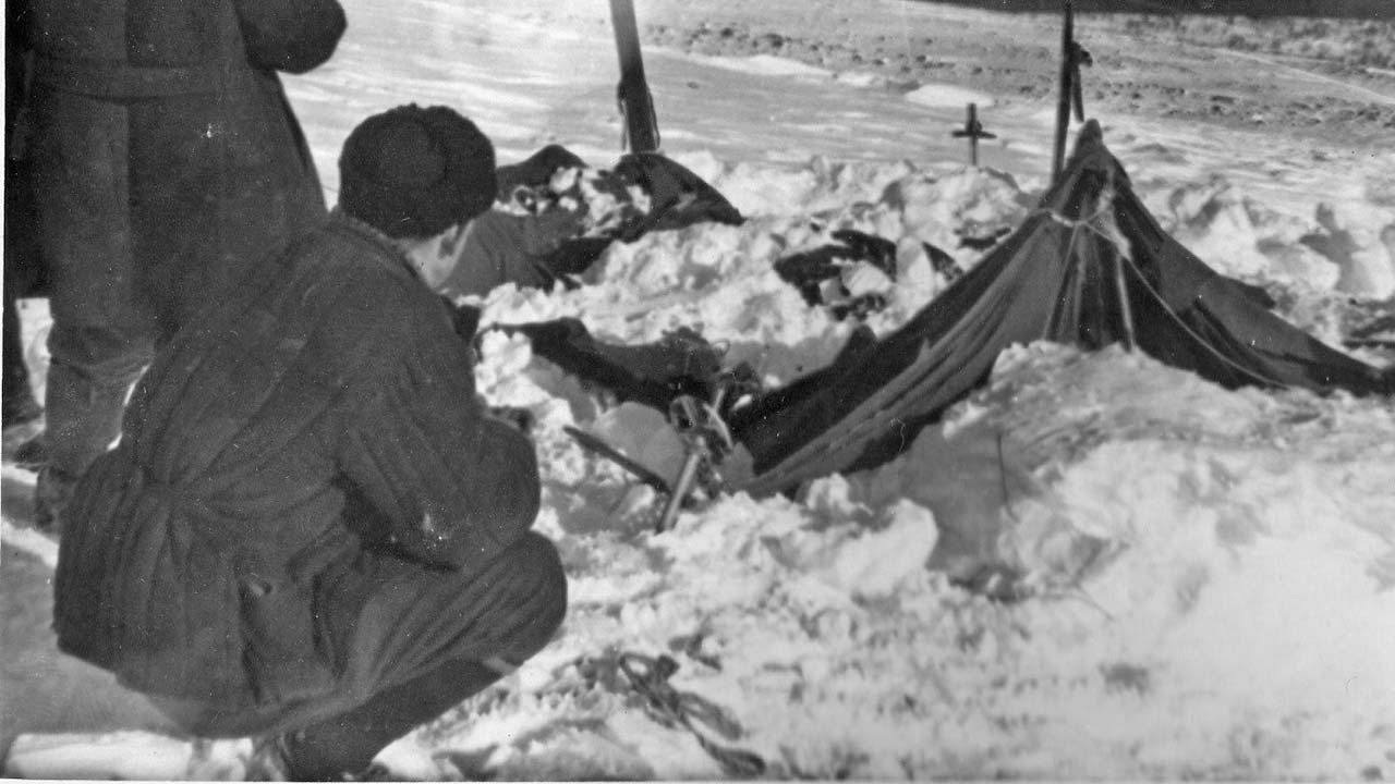 Фото с перевала Дятлова.