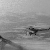 Ми-8 в полете