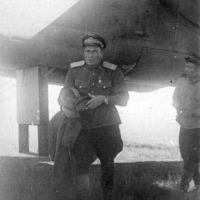 ГСС Комполка Власов под крылом В-25