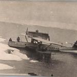 Самолет «Дорнье-Валь» СССР Н-2.Фото сделаны с борта ледокола «Красин»