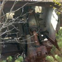 Батарея №960 на мысе Островном. Орудие Б-13 с тыла