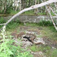 Батарея №960 на мысе Островном. Орудийный дворик