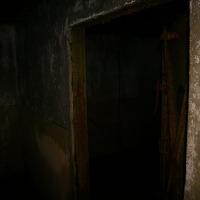 Батарея №960 на мысе Островном. Внутренние помещения капонира разделялись между собой дверями.