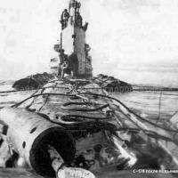 С-178 после подъема. Ноябрь 1981 года.