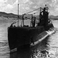 Подводная лодка «Щ-117» на базе в бухте Находка 1936 -1937 год.
