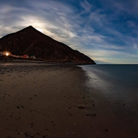 Северное сияние и остров Недоразумения. Автор: Алексей Гнездилов.