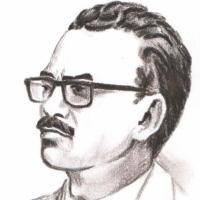 Портрет Христофорова В.Г. Рисунок Фентяжева.