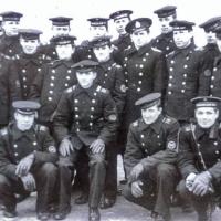 С-198. Экипаж в Магадане. 1970 год.