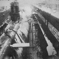 С-220 в доке. Бухта Сельдевая 1976-77 года