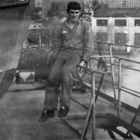 С-288. Бухта Диамида 1978 года. Ерзянкин (электрик).