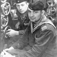 С-288. На заднем плане Ряховский Виктор Иванович. 1964 год.