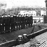 Построение экипажа С-288. 60-е годы ХХ-го века.