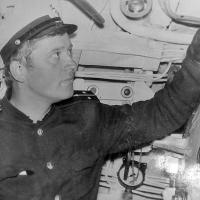 Капитан С-288 Путинцев. 1977-78 года.