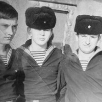 С-365. Совгавань, 1972 год. Александр Лукашов, Анатолий Уткин, Владимир Панов.