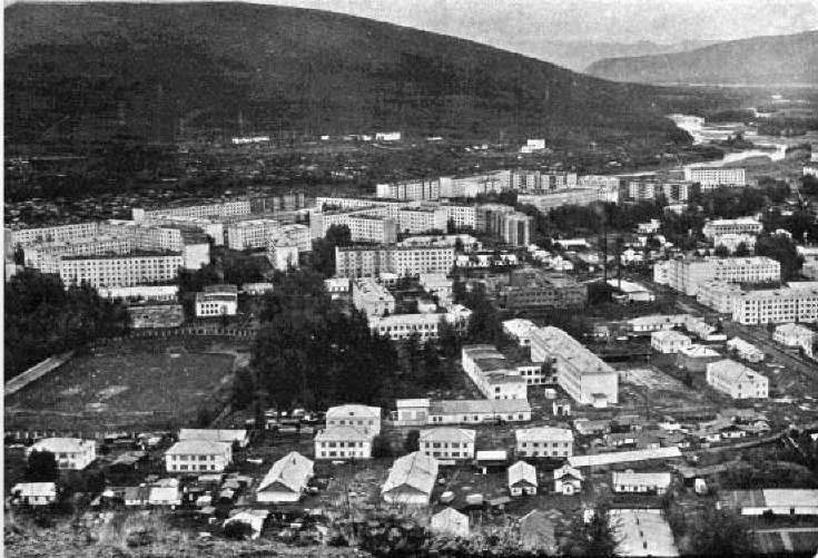 Поселок Усть-Омчуг. 1980