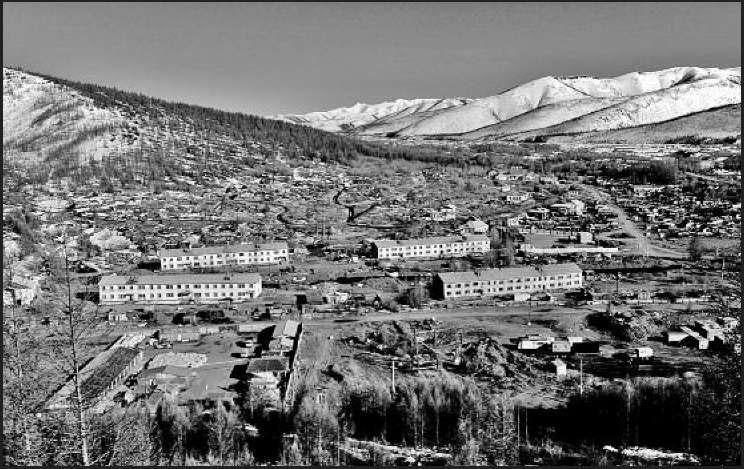 Поселок Гастелло. Вид на историческую часть. 2011