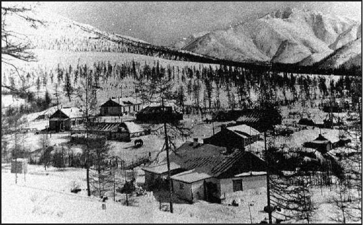 Поселок Стоковое. 70-е года ХХ века