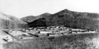 Поселок Матросова. Верхний поселок. Берлаг, 1953 год.