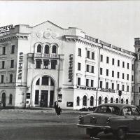 Здание гостиницы «Магадан», построенной в 1959 году.