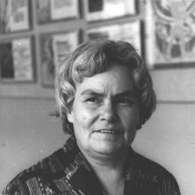 З.И. Варрен-Сизова, заслуженный учитель школы РСФСР