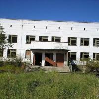 Поселок Эльген. Бывшая школа
